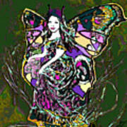 Dancing Butterfly Art Print
