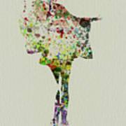 Dancing Geisha Print by Naxart Studio