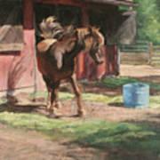 Dancing Horse Art Print