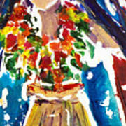 Dancing Hula Art Print