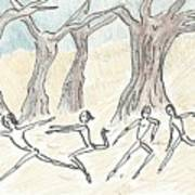 Dancing In The Mountain Art Print