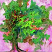 Dancing Oak Art Print