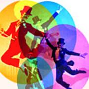 Dancing On Air Art Print