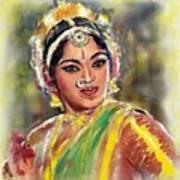 Dancing Padmini Art Print
