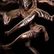 Dancing Shiva Art Print