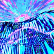 Dancing Sky Art Print