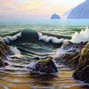 Dancing Tide Art Print
