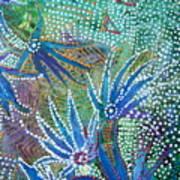 Dancing Weeds Art Print