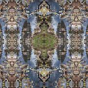 Dancing With Aspen Leaves Art Print