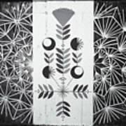 Dandelion Puff Art Print