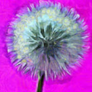 Dandelion Spirit Art Print
