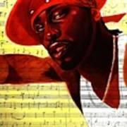 D'angelo-singer Art Print