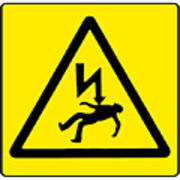 Danger Electricity Art Print