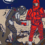 Danger In Deep Space Art Print