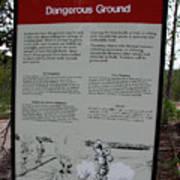 Dangerous Ground Art Print