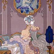 Dangerous Liaisons Art Print by Georges Barbier