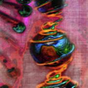 Dangling Art Print