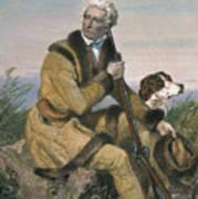 Daniel Boone (1734-1820) Art Print