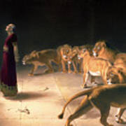 Daniel's Answer To The King Art Print