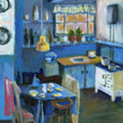 Danish Kitchen Art Print