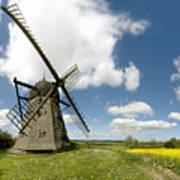 Danish Windmill Art Print
