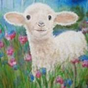 Flying Lamb Productions     Daphne Star In The Tall Grass Art Print