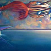 Daphnis And Chloe Art Print