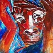 Darfur - She Cries Art Print