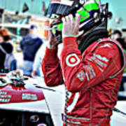 Dario Franchitti  Art Print