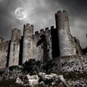 Dark Castle Print by Carlos Caetano