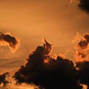 Dark Clouds Looming Art Print
