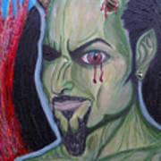 Dark Demon Art Print