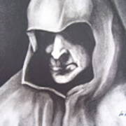 Dark Man Art Print
