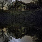 Dark Reflection Art Print