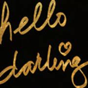 Darling Bella I Art Print