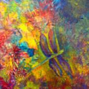 Darling Dragonfly Art Print