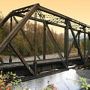 Darrington Bridge Br-6002 Art Print