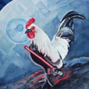 Darth Chicken Art Print