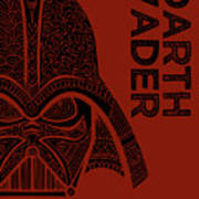 Darth Vader - Star Wars Art  Art Print
