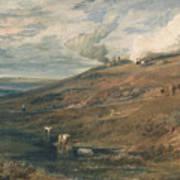 Dartmoor The Source Of The Tamar And The Torridge Art Print
