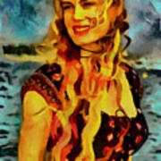 Daryl Hannah Collection - 1 Art Print