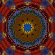 Das Bunte Kaleidoskop Art Print
