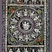 Dashavtar B/w 1  Art Print