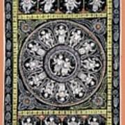 Dashavtar B/w 6 Art Print