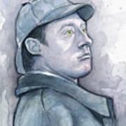 Data As Sherlock Holmes Art Print