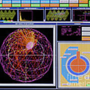 Data Capture, Sudbury Neutrino Art Print
