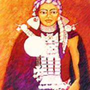 Daughter Of The Bright Sun - Kushe Art Print