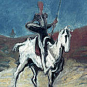 Daumier: Quixote, 19th C Art Print