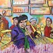 Dave Dickey Big Band Art Print