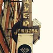 Daved Jewelers  Art Print